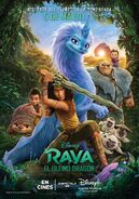 Disney's Raya and the Last Dragon European Spanish Poster 2