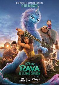 Disney's Raya and the Last Dragon Latin American Spanish Poster 2.jpg