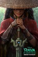 Disney's Raya and the Last Dragon Dutch Teaser Poster