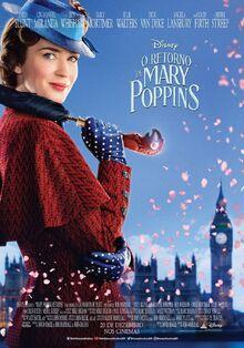 Disney's Mary Poppins Returns Brazilian Portuguese Poster 2.jpeg