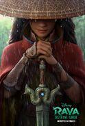Disney's Raya and the Last Dragon Polish Teaser Poster
