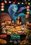 Disney's Raya and the Last Dragon Canadian French Poster 3