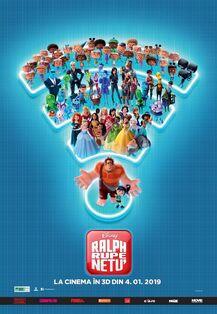 Disney's Ralph Breaks the Internet Romanian Poster.jpeg