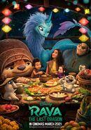 Disney's Raya and the Last Dragon Indonesian Poster 3