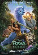 Disney's Raya and the Last Dragon Catalan Poster