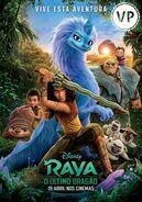 Disney's Raya and the Last Dragon European Portuguese Poster