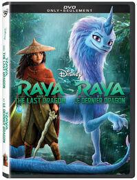 Disney's Raya and the Last Dragon Canadian DVD Poster.jpg