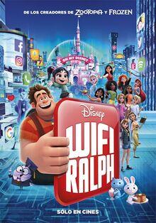 Disney's Ralph Breaks the Internet Latin American Spanish Poster 3.jpeg
