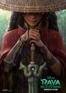 Disney's Raya and the Last Dragon German Teaser Poster