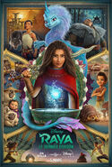 Disney's Raya and the Last Dragon Canadian French Poster 2