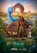 Disney's Raya and the Last Dragon Dutch Poster