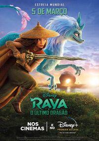 Disney's Raya and the Last Dragon Brazilian Portuguese Poster.jpg
