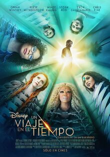 Disney's A Wrinkle in Time 2018 Latin American Spanish Poster.jpeg