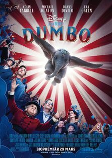 Disney's Dumbo 2019 Swedish Poster.jpeg