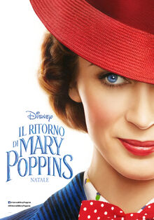 Disney's Mary Poppins Returns Italian Teaser Poster.jpeg
