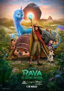 Disney's Raya and the Last Dragon European Spanish Poster