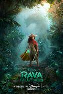 Disney's Raya and the Last Dragon Poster 3