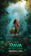 Disney's Raya and the Last Dragon Norwegian Poster
