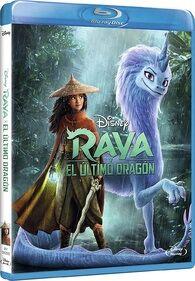 Disney's Raya and the Last Dragon European Spanish Blu-ray Poster.jpg