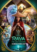 Disney's Raya and the Last Dragon Indonesian Poster