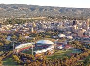 Adelaide city centre view crop