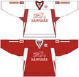 Denmark national ice hockey team Home & Away Jerseys.png