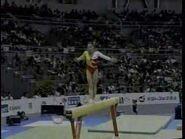 Mo Huilan - 1995 Worlds EF - Balance Beam