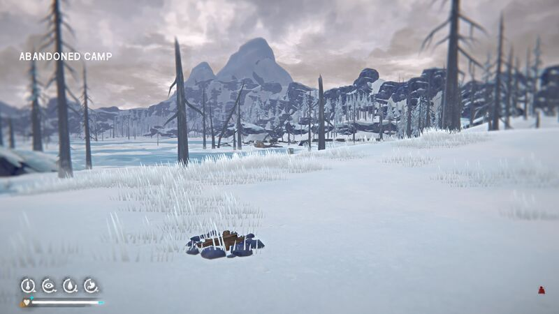 Forlorn Muskeg - Abandoned Camp - In game View2.jpg