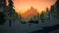 Frozen Creek dawn