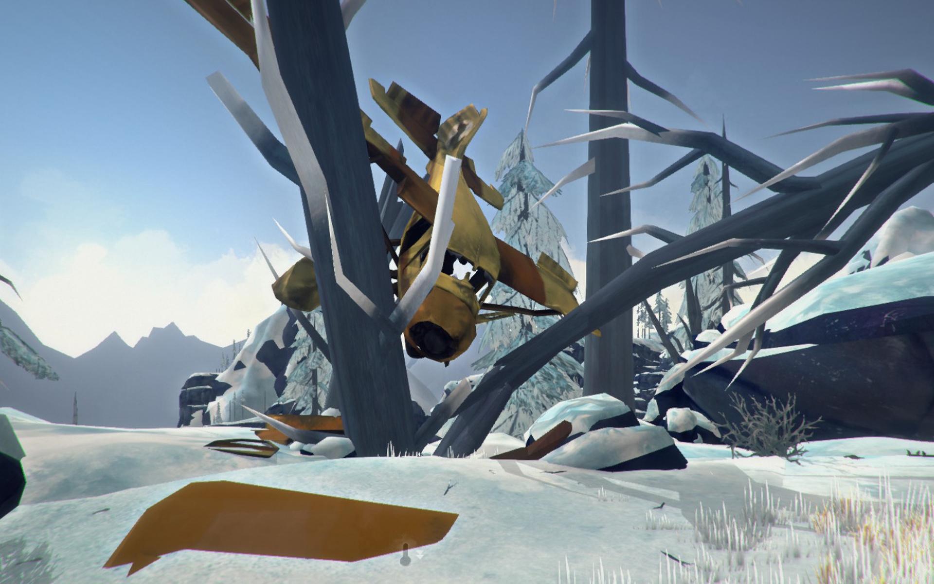 Mackenzie's Crashed Plane