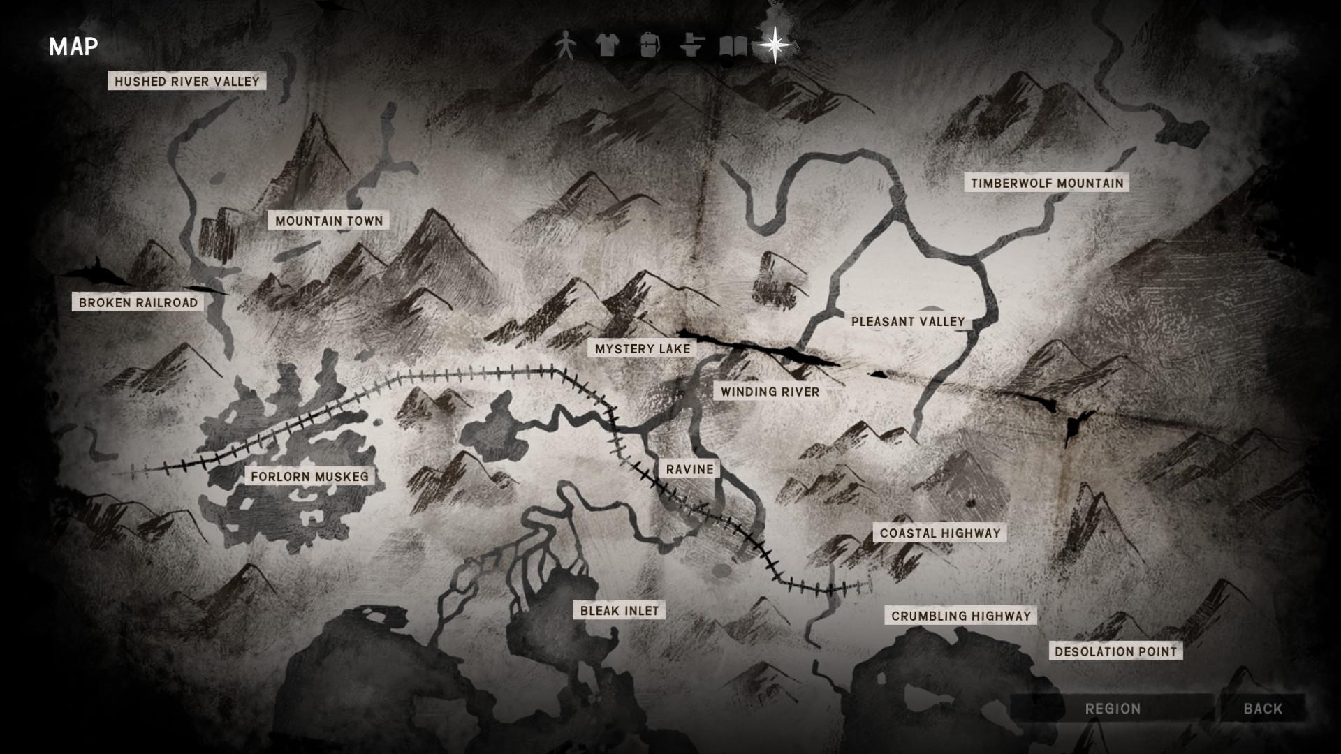 Map | The Long Dark Wiki | Fandom