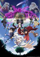 Hanyo no Yashahime Season 2 poster2