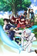 Hanyo no Yashahime Anime Poster