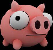 Modelo 3d de cerdo