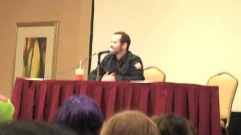 "InvaderCON - Andy Berman says ""I love you, Zim!"" ZADR"