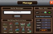 Guild Manage