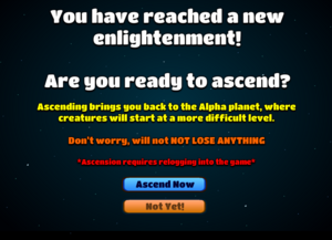 Old Ascension screen