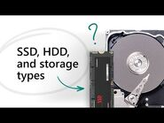All about SSD, HDD, and storage types