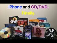IPhone and CD-DVD. Finally.
