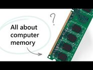 All About Computer Memory