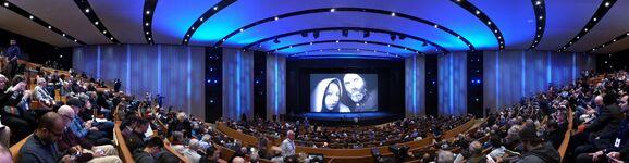 Steve Jobs Theater auditorium 2018 shareholders meeting
