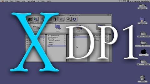 Mac OS X Developer Preview (1)