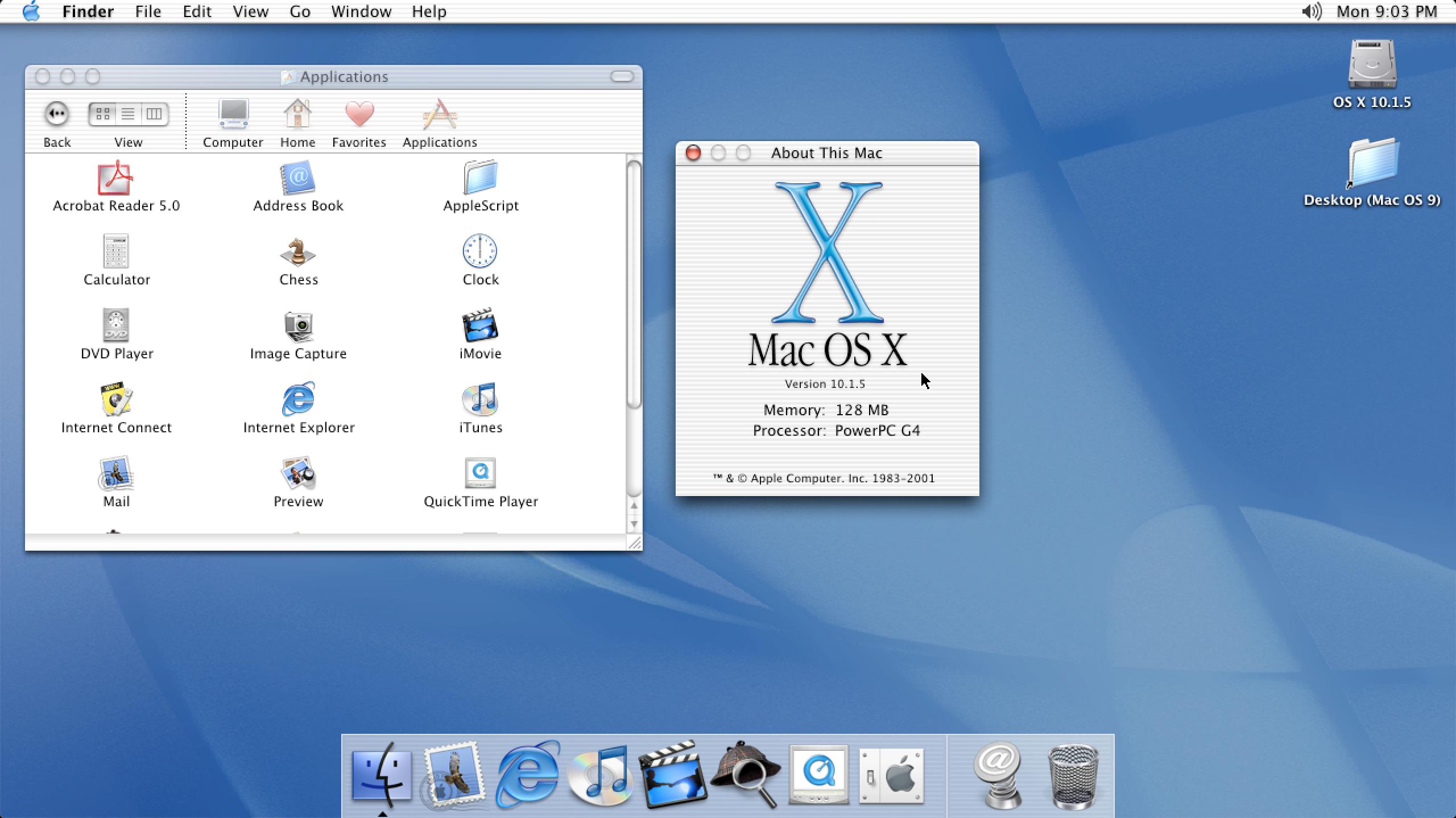 Mac OS X 10.1.5