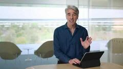 Introducing the new iPad Pro Cursor Craig Federighi