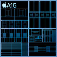 Apple A15 simplified schematic