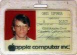 Badge 0008 Chris Espinosa