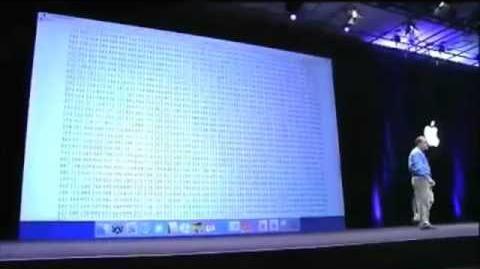 Apple WWDC 2005