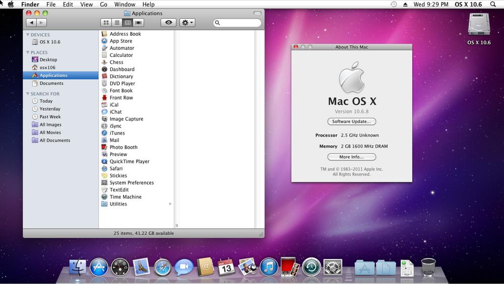 MacOS X 10.6 Snow Leopard, 2009