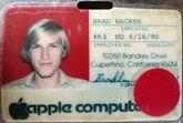 Badge 0063 Brad Hacker