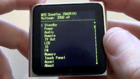 Diagnostics mode (iPod)